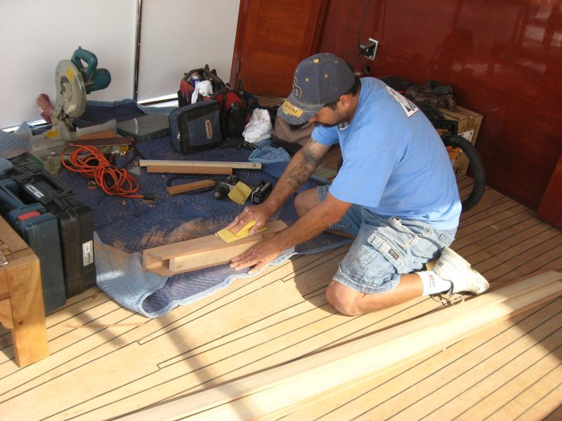 have the means of producing world class yacht quality fine woodwork